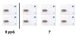 Решение задачи с конвертами